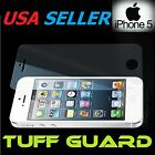 Premium Apple iPhone 5s 5 SE Tuff Screen Protector Crystal Clear lot x1 x3 x6