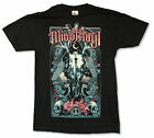 """MISS MAY I """"GATES OF DEATH"""" BLACK SLIM FIT T-SHIRT NEW OFFICIAL BAND ADULT"""