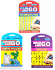 GRAB PUZZLES BOOKS - WORDSEARCH, SUDOKI, JUNIOR PUZZLES IDEAL FOR JOURNEYS