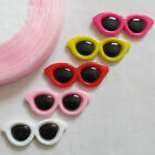 30pcs Resin Flatback Fashion Summer Colorful Sunglasses Scrapbooking Craft Upick