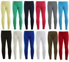 New Girls Dance Leggings Warm Stretch 100% Cotton Leggings Ages 2-13 Years