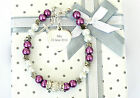 GIRLS ENGRAVED CHRISTENING/FIRST HOLY COMMUNION CROSS BRACELET IN 12 COLOURS