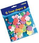Playbox Foam Shapes Flowers 125 in Mixed Colours Crafts Playbox NEW
