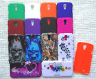 Faceplate Phone Cover ULTRA THIN ONE PIECE Snap-On Case FOR Samsung Galaxy S4