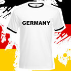 Germany World Cup T-Shirt Brazil 2014 Memorabilia - Retro Germany Football Top