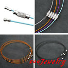 5pc Metal Wire Cord Cable Thread Rope Choker Necklace Loop 17.5'' Finding Making