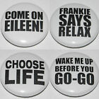EIGHTIES PARTY Button Badge 25mm / 1 inch - Dress Up - Wham - Retro