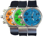 AN London High Tech Sports Watch with Rubber Strap & Colourful Dial-AN0732
