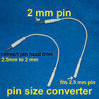 2 way Lead Electrode Wire Converter Pin to Snap Tens Machine Maternity Labour