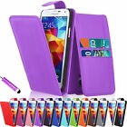 Flip Wallet Leather Case Cover For Samsung Galaxy S5 I9600 Free Screen Protector