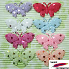 "(U Pick) Wholesale 40-480 Pcs. 2-1/8"" Shiny Polka Dot Butterfly Appliques B0980"