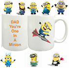 Despicable Me One In A Minion Mug Personalised Gift Mug Novelty fun