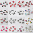 5PCS New Fashion Floating Charm for Glass Living Memory Mix Alloy MINI Locket