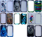 LOTS OF 3 items FOR Huawei Ascend Y M866 / M866P / H866C Phone Cover DESIGN Case