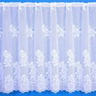 Heidi Heavyweight Scalloped Net Curtain - Sold By The Metre.