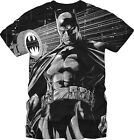 Batman Bat City Short Sleeve Mens Black T-Shirt M,2XL