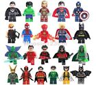 SUPERHEROES MINIFIGURES COMIC BOOK CHARACTERS compatible with LEGO® brand Lot 2