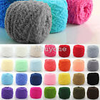 Super Soft Smooth Chunky Acrylic Double Knitting Wool Yarn Baby Skein Ball 100g