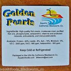 Golden Pearls 8 oz. Fry, Corals, Reef Tanks, Betta, Discus, Cichlid, Baby Food