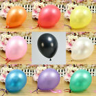 "Hot 100PCS Birthday Wedding Party Decor Latex Balloons 10"" 9 Color U Pick"