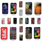 For Motorola Moto E - High Quality Snap On Vibrant Design Phone Cover Case