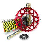 Honda CRF450 R 2002-2014 Regina RX3 Pro Chain And Renthal Sprocket Kit Red