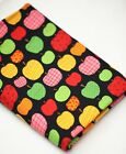 Free Shipping by the yard Apple Pepper Fire printed 100% Cotton Fabric 43.3""