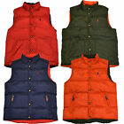 Polo Ralph Lauren Puffer Vest Jacket Reversible Down Mens New S M L Xl Xxl P105+