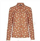 NEW MARKS AND SPENCER AUTOGRAPH BUTTERFLY PRINT BLOUSE SIZES 8 TO 18 RTL £39.50