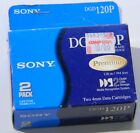 NEW Sony DGD120P 4/8GB DDS2 4mm Data Tape Cartridges  (box has two tapes in it)