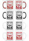 DISOBEY PRINTED MUG - WITH CHOICE OF COLOURS