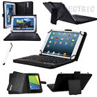 "New Universal Wireless Bluetooth Keyboard Case For 7"" 7.9"" 8"" 9""-10.5"" Tablet PC"