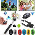SELFIE Extend Handheld Monopod Bluetooth Remote Control Shutter Timer For Phone