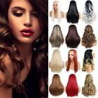 Ladies 3/4 WIG Half Fall Clip In Hair Piece 3 STYLES/25 SHADES