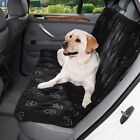 Cruising Companion Pawprint Dog Car Back Seat Cover Comfy Cushy Ride 4 Colors