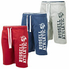 Russell Athletic Mens Cotton Jogging Shorts Training Pants Gym Bottoms New