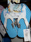 NWT Girls Guy Harvey Dotti Flip Flop Turquoise Blue or Pink Size 2/3