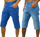 Mens Eto Jeans Designer Combats Denim & Chino Shorts Stylish Smart Gym Cargo