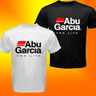 ABU GARCIA FISHING REEL LOGO CUSTOM T-SHIRT SIZE S-3XL