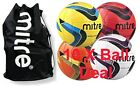 Mitre Malmo Training Balls x 10 PLUS Mitre Nylon Ball Bag