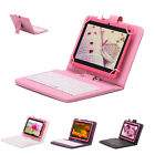 "iRulu X1 7"" Tablet 16GB Android 4.2 Dual Core Cam 1.5 GHz WIFI Pink w/ Keyboards"