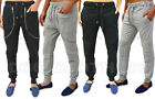 Mens Skinny Slim Stretch Fleece & Pique Designer Joggers Bottoms Various Pants