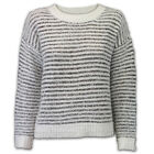 Ladies Jumper Brave Soul Womens Knitted Pullover Sequin Mohair Baggy Crew Winter