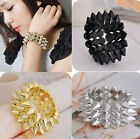 Occident style fashion Punk gothic Hot Sale rivet Three rows charms bracelet