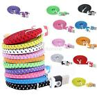 Micro Fabric Braided Flat 3FT USB Sync Data Charger Cable Cord For Galaxy S4 S3