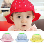 Summer Cute Toddler Baby Boy Girl Strawberry süß Candy Dot Bucket Hat Sun Hüte