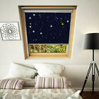 Blackout blind STARS for VELUX windows (New K series codes, 3 year Guarantee)
