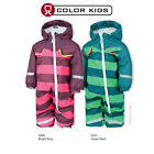 Color Kids Schneeanzug Baby Kinder Coverall Winteranzug gestreift Takano