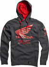 Fox Racing Hoody Sweatshirt Pullover Honda Premium Charcoal Heather 09469