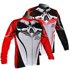 Outdoor Men Thermal Windproof Sports Bike Bicyle Long Sleeve Cycling jersey XS~L
